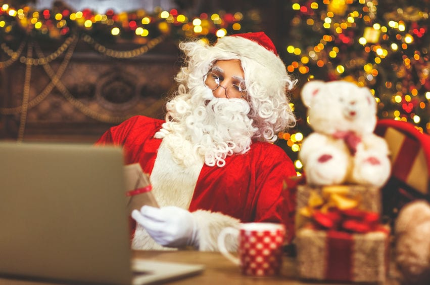 Santa Gonna Be Up All Night Charting Children's Visits